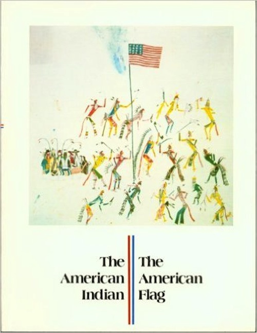 THE AMERICAN INDIAN, THE AMERICAN FLAG