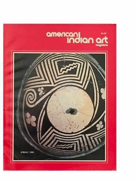 AMERICAN INDIAN ART MAGAZINE. Vol. 006, No. 2