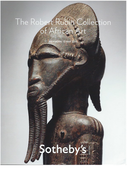 (Auction Catalogue)THE ROBERT RUBIN COLLECTION OF AFRICAN ART.;
