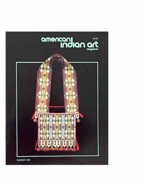 AMERICAN INDIAN ART MAGAZINE. Vol. 009, No. 3