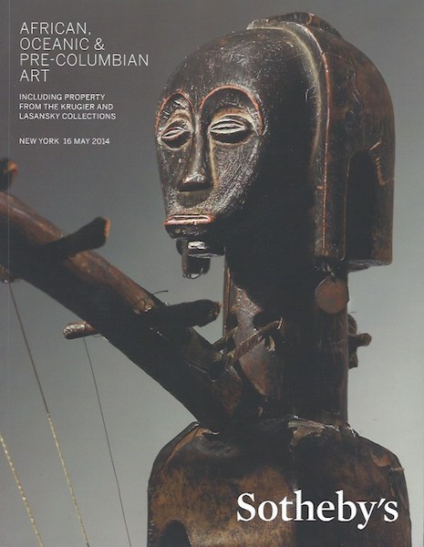 (Auction Catalogue) AFRICAN, OCEANIC, & PRE-COLUMBIAN ART.; INCLUDING PROPERTY FROM THE KRUGER AND LOSANSKY COLLECTIONS