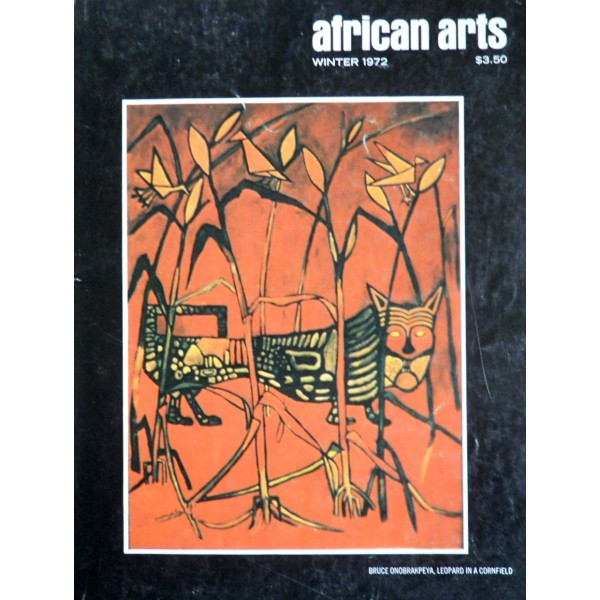AFRICAN ARTS MAGAZINE: A Quarterly Journal, Vol. 05, #2