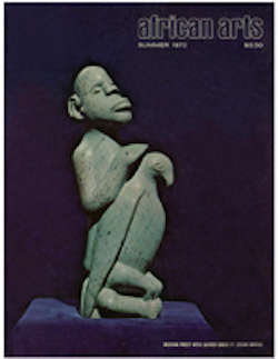 AFRICAN ARTS MAGAZINE: A Quarterly Journal, Vol. 05, #4