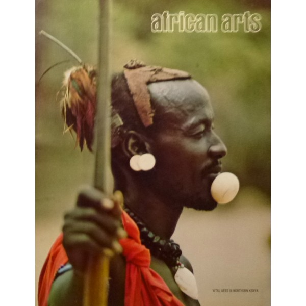 AFRICAN ARTS MAGAZINE: A Quarterly Journal, Vol. 07, #2