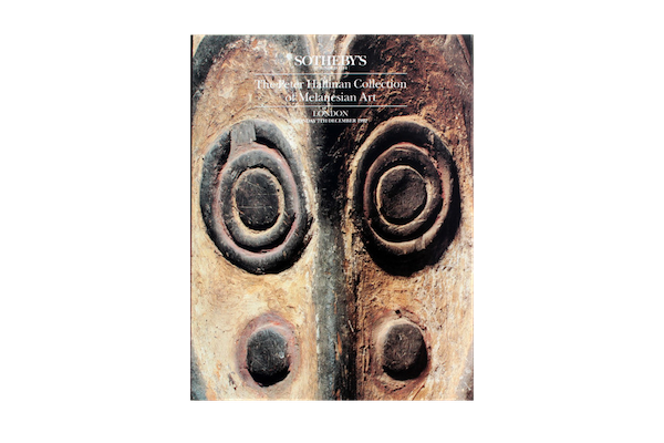 (Auction Catalogue) THE PETER HALLINAN COLLECTION OF MELANESIAN ART