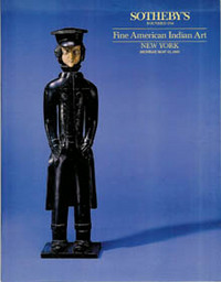 Auction Catalogue) FINE AMERICAN INDIAN ART