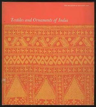 TEXTILES AND ORNAMENTS OF INDIA. P. Jayakar, J. Irwin