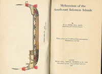MELANESIANS OF THE SOUTH-EAST SOLOMON ISLANDS. W. g. Ivens