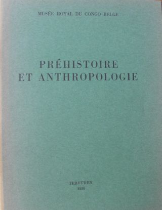 PREHISTORIE ET ANTHROPOLOGIE