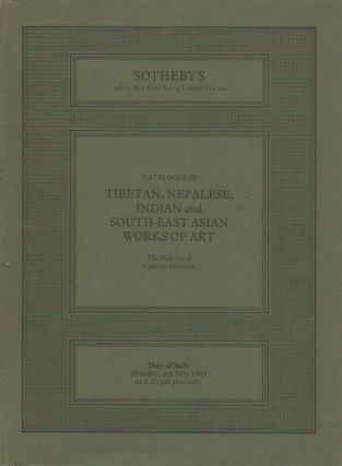 Auction Catalogue) TIBETAN, NEPALESE, INDIAN AND SOUTH-EAST ASIAN WORKS OF ART