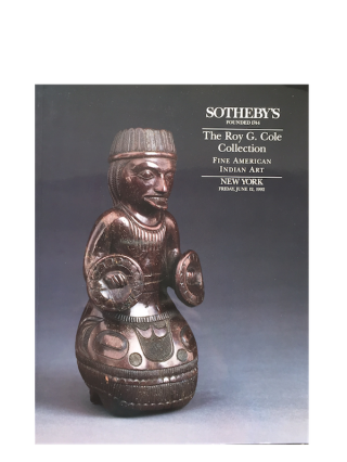 Auction catalogue) THE ROY G. COLE COLLECTION. FINE AMERICAN INDIAN ART