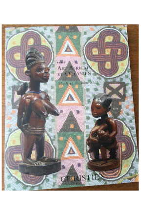 Auction catalogue) ART AFRICAIN ET OCEANIEN