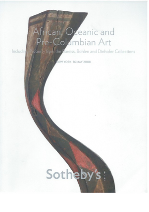 Auction Catalogue)AFRICAN, OCEANIC AND PRE-COLUMBIAN ART, INCLUDING PROPERTY FROM THE BOHLEN AND...