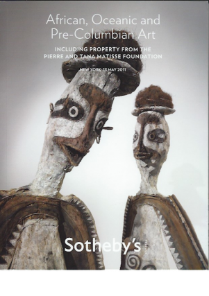 Auction Catalogue)AFRICAN, OCEANIC AND PRE-COLUMBIAN ART. INCLUDING PROPERTY FROM THE PIERRE AND...