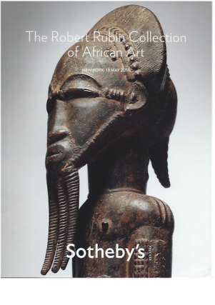 Auction Catalogue)THE ROBERT RUBIN COLLECTION OF AFRICAN ART