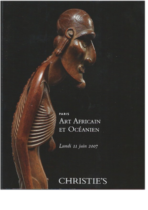 Auction Catalogue)ART AFRICAIN ET OCEANIEN