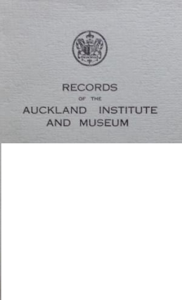IDENTIFICATION OF ARCHAEOLOGICAL AND ETHNOLOGICAL SPECIMENS OF FIBRE-PLANT MATERIAL USED BY THE MAORI.; Records of the Auckland Institute and Museum, Volume 8. Jeanne H. Goulding.