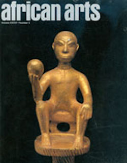 AFRICAN ARTS MAGAZINE: A Quarterly Journal, Vol. 36, #3