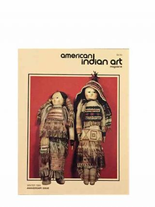 AMERICAN INDIAN ART MAGAZINE. Vol. 010, No. 1