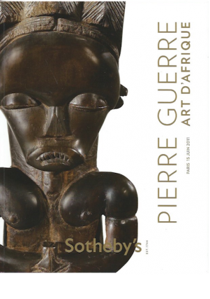 (Auction catalogue) PIERRE GUERRE, ART D'AFRIQUE.