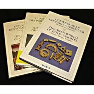 THE AKAN WORLD OF GOLDWEIGHTS (3 volumes). G. Niangoran-Bohah