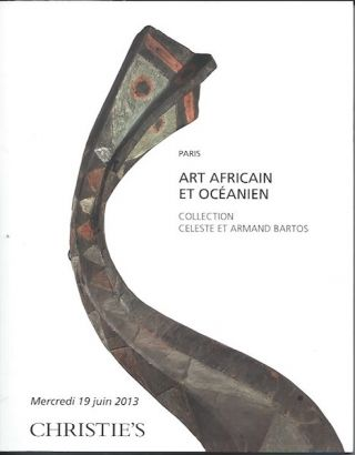 Auction Catalogue) ART AFRICAIN ET OCEANIEN. Collection Celeste et Armand Bartos