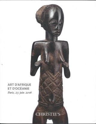 Auction Catalogue) ART D'AFRIQUE ET D'OCEANIE