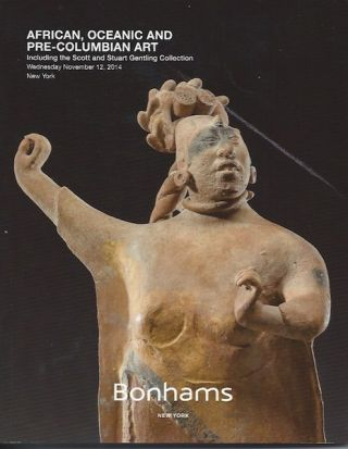 Auction Catalogue) Bonhams, November 12, 2014. AFRICAN, OCEANIC AND PRE-COLUMBIAN ART. Including...
