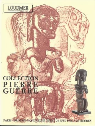 Auction Catalogue 4) COLLECTION PIERRE GUERRE