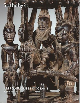 (Auction Catalogue) COLLECTION FRANCOISE JEAN CORLAY. ARTS D'AFRIQUE.