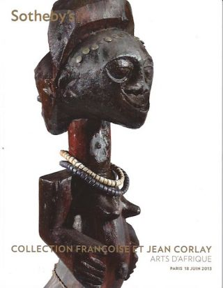 Auction Catalogue)ARTS D'AFRIQUE ET D'OCEANIE; (INCLUDING 50 LOTS FROM THE CORLAY COLLECTION