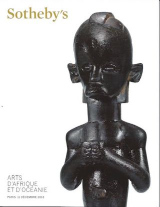 Auction Catalogue) ARTS D'AFRIQUE ET D'OCEANIE