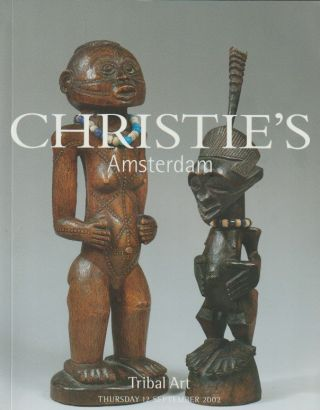 Auction Catalogue) Christie's, September 12, 2002. TRIBAL ART