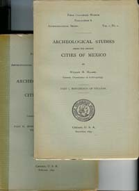 ARCHAEOLOGICAL STUDIES AMONG THE ANCIENT CITIES OF MEXICO. W. Holmes