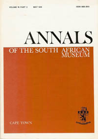SOME NGUNI CRAFTS, Annals of the South African Museum, Vol. 70, Part 2. THE USES OF HORN, BONE...