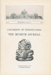 The Museum Journal, VOL. II, No. 2