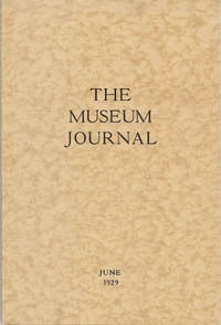 The Museum Journal, June 1929