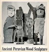 ANCIENT PERUVIAN WOOD SCULPTURE