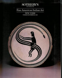 (Auction Catalogue) FINE AMERICAN INDIAN ART