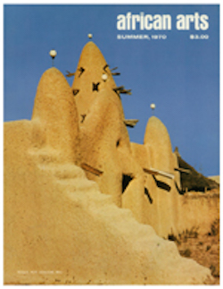 AFRICAN ARTS MAGAZINE: A Quarterly Journal, Vol. 03, #4
