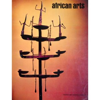 AFRICAN ARTS MAGAZINE: A Quarterly Journal, Vol. 06, #3