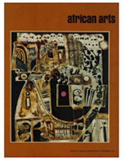 AFRICAN ARTS MAGAZINE: A Quarterly Journal, Vol. 08, #2