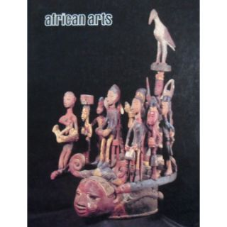 AFRICAN ARTS MAGAZINE: A Quarterly Journal, Vol. 14, #3