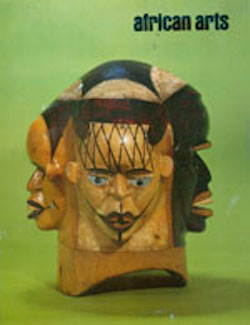 AFRICAN ARTS MAGAZINE: A Quarterly Journal, Vol. 19, #2