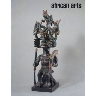 AFRICAN ARTS MAGAZINE: A Quarterly Journal, Vol. 20, #3