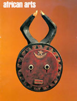 AFRICAN ARTS MAGAZINE: A Quarterly Journal, Vol. 27, #1