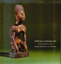 Auction Catalogue) FINE AFRICAN AND OCEANIC ART