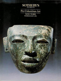 Auction Catalogue) PRE-COLUMBIAN ART