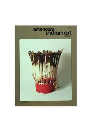 AMERICAN INDIAN ART MAGAZINE. Vol. 004, No. 3