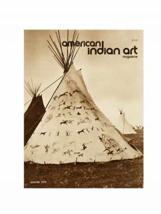 AMERICAN INDIAN ART MAGAZINE. Vol. 005, No. 1